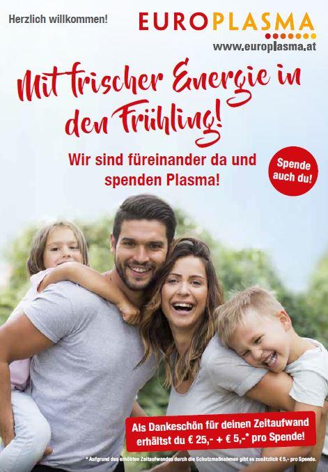 Europlasma - Plasma spenden